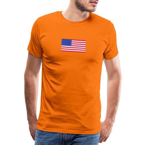 AVM 48 star flag in 3 color RGB VECTOR - Mannen Premium T-shirt