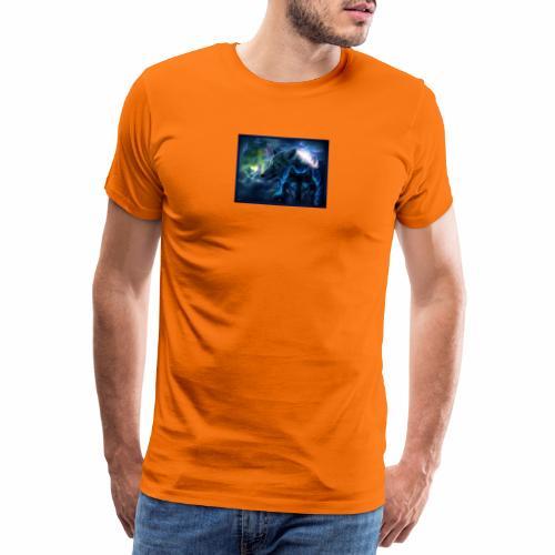 3 wunderschöne Wölfe - Männer Premium T-Shirt