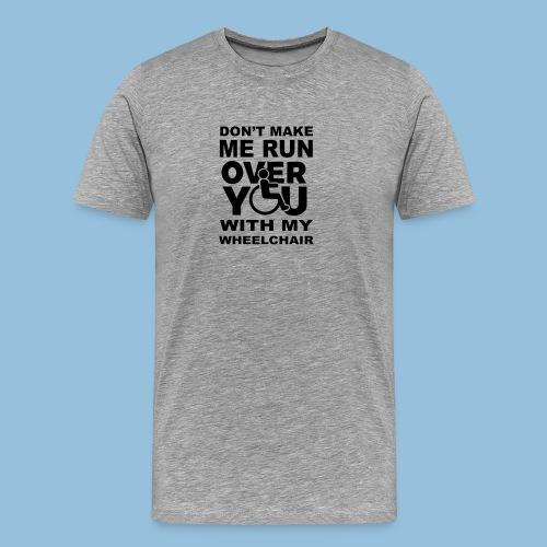 Runover1 - Mannen Premium T-shirt