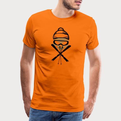 ski_skull - Männer Premium T-Shirt