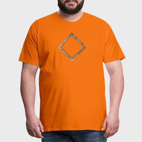 Cloud Square - Männer Premium T-Shirt