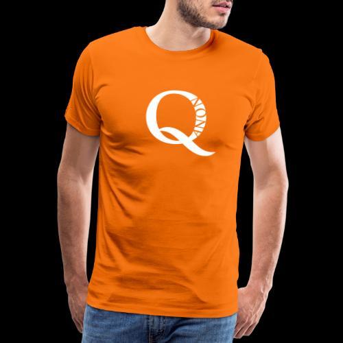 Q Anon Q-Anon Original Logo - Männer Premium T-Shirt