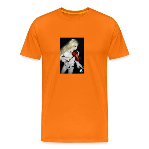 Vampire Violin Gothic Music Fantasy Enchanted - Men's Premium T-Shirt