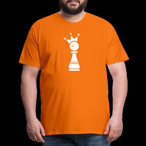 Winky Chess King - Mannen Premium T-shirt