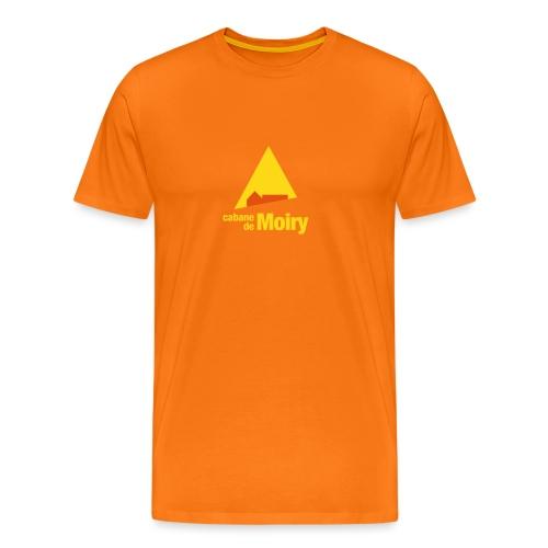 cabanemoirylogo50mm - T-shirt Premium Homme