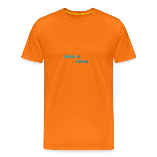 Notre logo - T-shirt Premium Homme