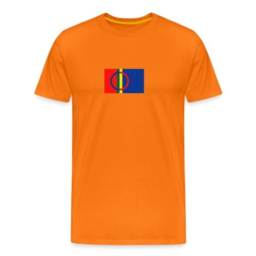 Samiska flaggan - Premium-T-shirt herr