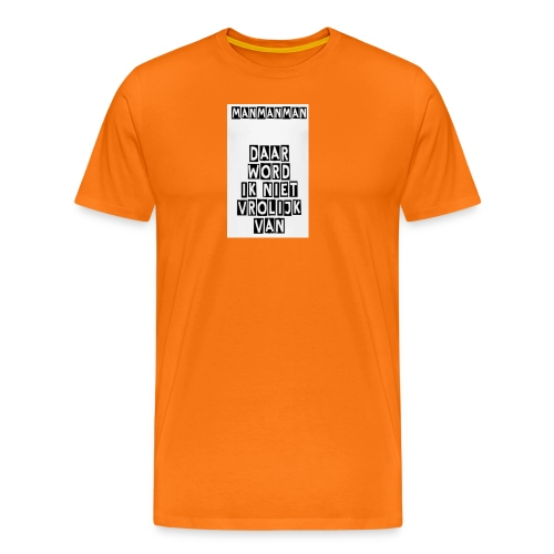 ManManMan - Mannen Premium T-shirt