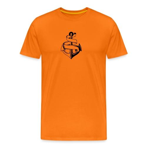 Ankare. - Premium-T-shirt herr