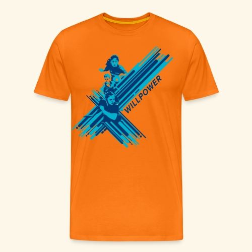 Will Power to win table Tennis Championship - Männer Premium T-Shirt