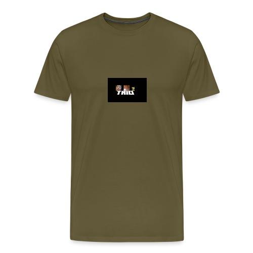 TRIO - Maglietta Premium da uomo