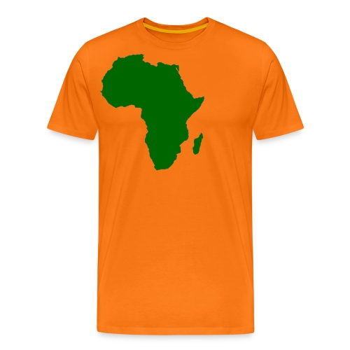 African styles green - Men's Premium T-Shirt