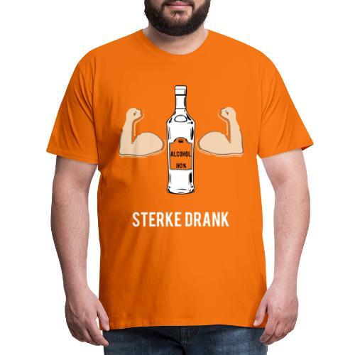 Sterke drank - Mannen Premium T-shirt