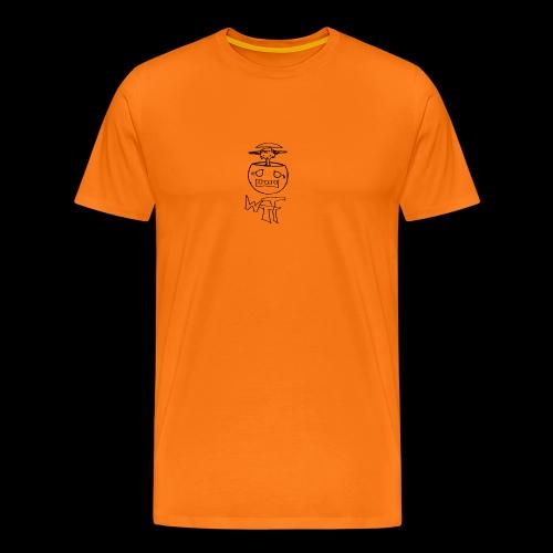 WTF black - Männer Premium T-Shirt