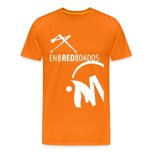 naranja_abajo - Camiseta premium hombre