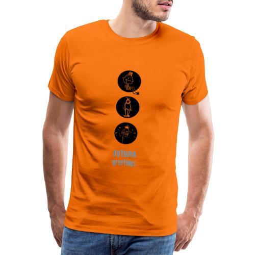 herbstgruss - Männer Premium T-Shirt