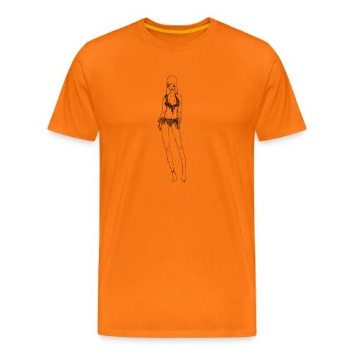Alessia - Maglietta Premium da uomo