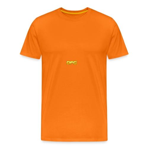 DFG - Premium T-skjorte for menn