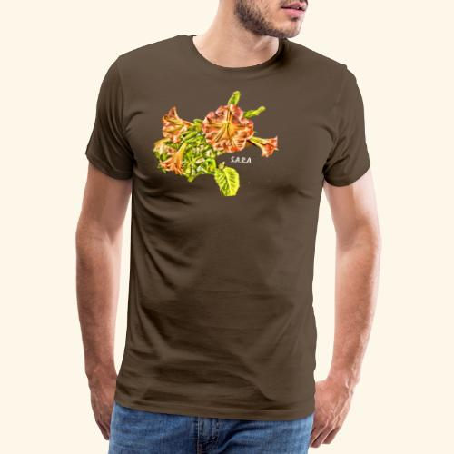 Trompetenbaum Blüten von S.A.R.A. - Männer Premium T-Shirt