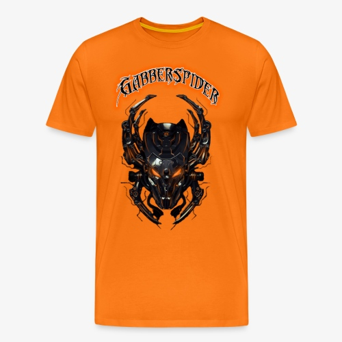 Gabberspider orange - Men's Premium T-Shirt