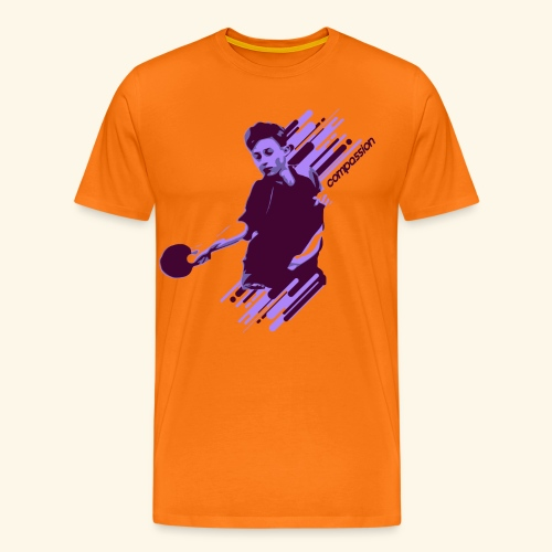 Compassion to win the table tennis championship - Männer Premium T-Shirt