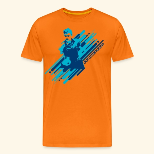Let's give the best move table tennis Champ - Männer Premium T-Shirt