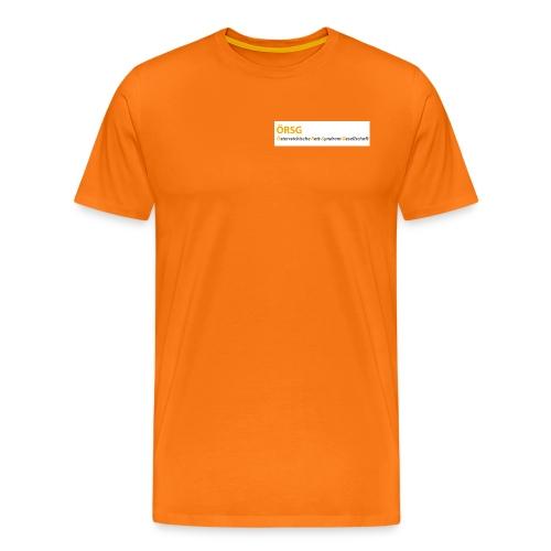 Text-Logo der ÖRSG - Rett Syndrom Österreich - Männer Premium T-Shirt
