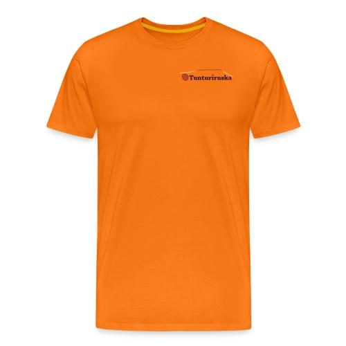 Tunturiruska - Miesten premium t-paita