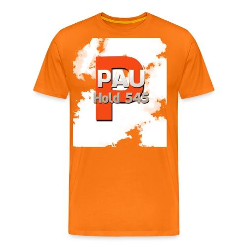 Logo 5 - Herre premium T-shirt