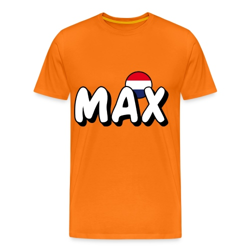 MAX Dutch - Mannen Premium T-shirt