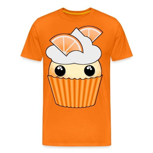 muffins apelsin orange med klyftor - Men's Premium T-Shirt