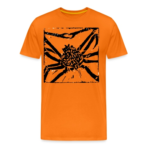 Museum Giant Spider Crab - Men's Premium T-Shirt