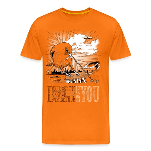 If I Were You - Herre premium T-shirt