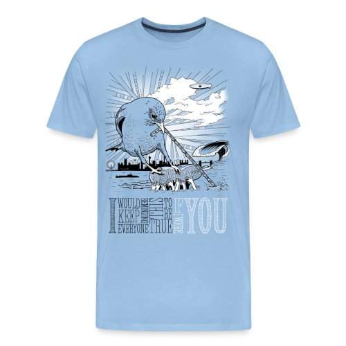 If I Were You - Herre premium T-shirt