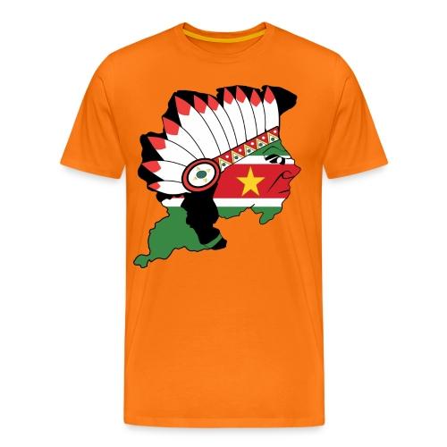Suriname - Mannen Premium T-shirt
