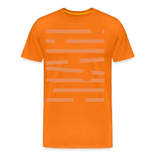 Rullande Bollar - Premium-T-shirt herr