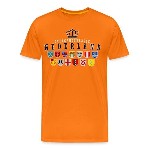 oranje png - Mannen Premium T-shirt