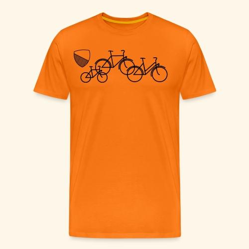 Velostadt Zürich Familie - Männer Premium T-Shirt