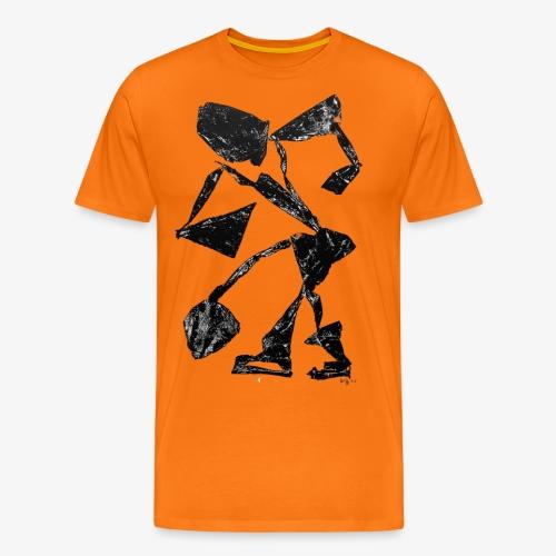 Monotype-print/figure-34 - Men's Premium T-Shirt