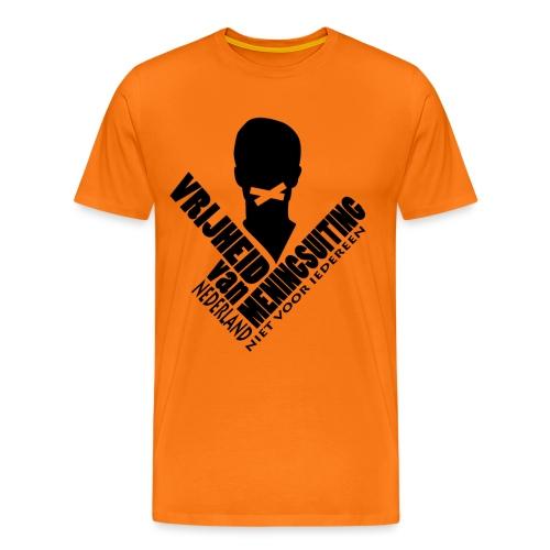 Vrijheid van meningsuiting - Men's Premium T-Shirt
