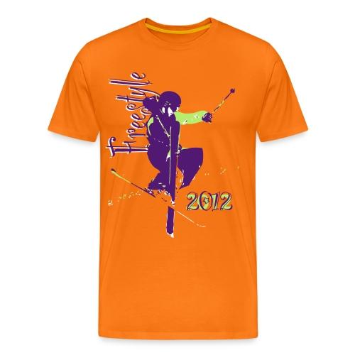 Ski Freestyle 1 - Maglietta Premium da uomo