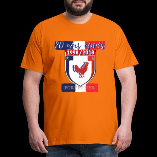 france FRANCE foot coupe du monde football - T-shirt Premium Homme