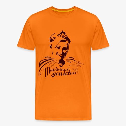 Koninging Maxima - Mannen Premium T-shirt