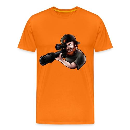 sniper png - Premium-T-shirt herr