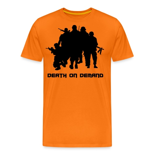 t-shirt_orange von cun - Männer Premium T-Shirt