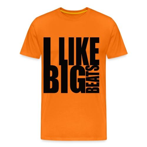 Big beats black - Männer Premium T-Shirt
