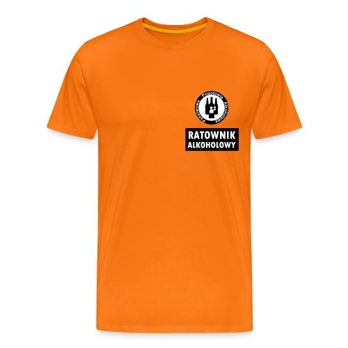 Ratownik alkoholowy - śmieszny prezent na urodziny - Koszulka męska Premium