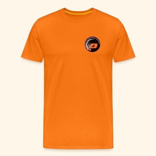 Planet Underground Round Logo - Men's Premium T-Shirt