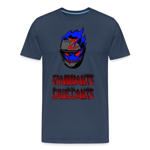 FlamesLogo - Maglietta Premium da uomo
