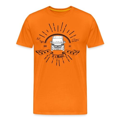 Magic Route - It's Magic Vanlife - Männer Premium T-Shirt